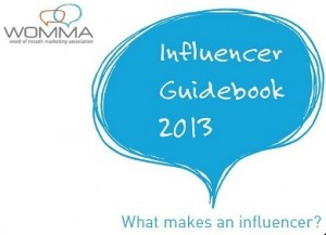 WOMMA Influencer Guide Book 2013-06-03_215459