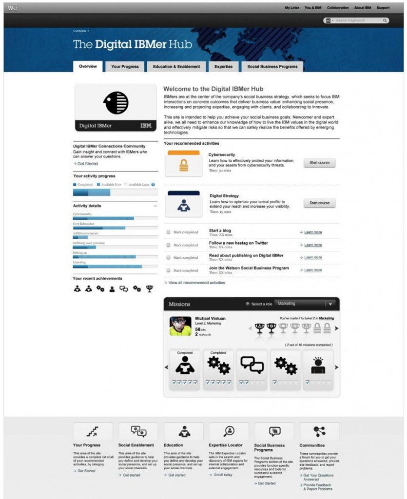Digital IBMer Hub Overview Full Size
